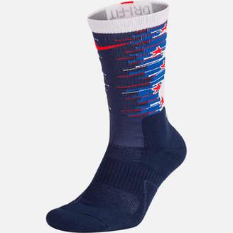 Nike Unisex Elite 1.5 Crew Fourth of July Basketball Socks