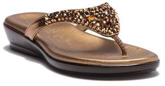 Italian Shoemakers Jazmin Embellished Sandal