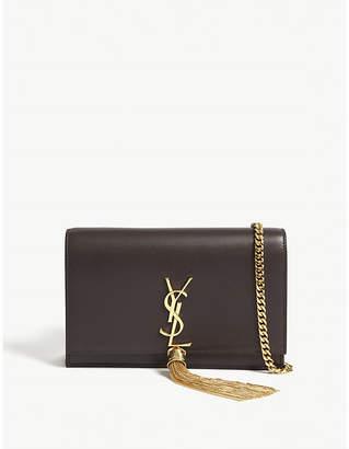 Saint Laurent Monogram Kate leather wallet-on-chain