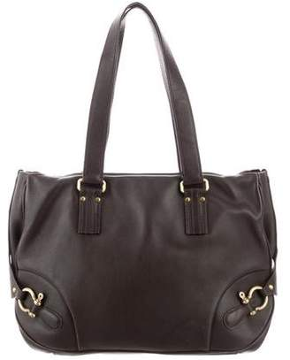590ad5d26574 Burberry Handbag Chocolate Leather - ShopStyle