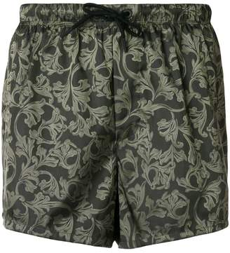 Versace baroque print boxers