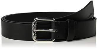 Calvin Klein Women's Roller Buckle Belt,L (Manufacturer Size: 95)