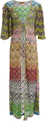 Missoni Mare Lurex Print Maxi Cover-Up