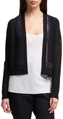 DKNY Long-Sleeve Open-Front Cardigan
