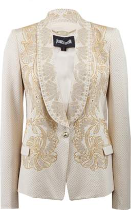 Just Cavalli Rhinestone Jacket