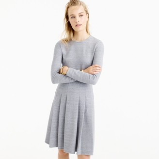 Tall pleated heathered ponte dress $128 thestylecure.com
