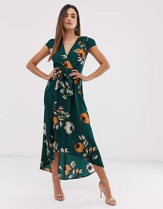 AX Paris wrap maxi dress