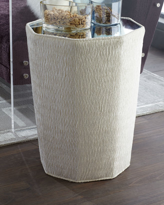 Haute House Gem Mirror-Top Side Table