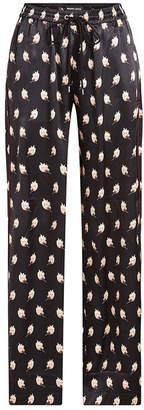 Markus Lupfer Printed Silk Pants