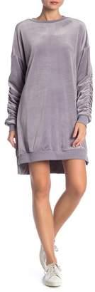 Solutions Velvet Pullover Dress