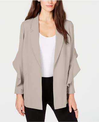 Alfani Flounce Sleeve Jacket