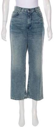 Rachel Comey High-Rise Straight-Leg Jeans w/ Tags