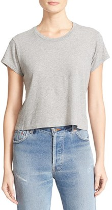 Women's Re/done 1950S Boxy Tee $78 thestylecure.com