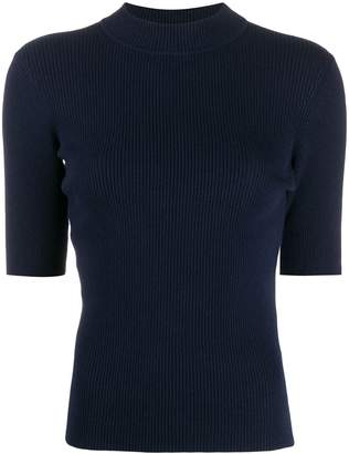 YMC short sleeved knitted top
