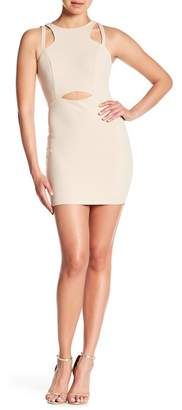 Jump Cutout Bodycon Dress