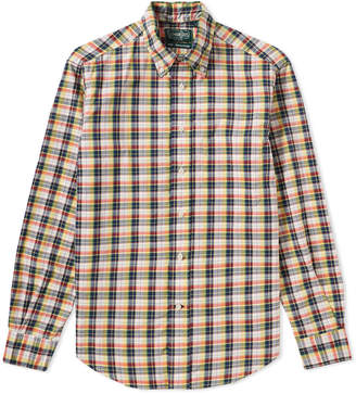 Gitman Brothers Archive Plaid Shirt