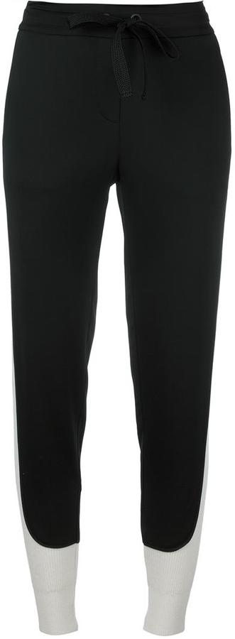 DKNYDKNY contrast piped track pants