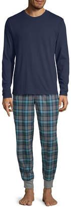 STAFFORD Stafford Mens Flannel Pajama Set Long Sleeve