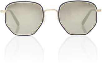 Oliver Peoples Alland Hexagonal Sunglasses