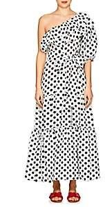 Lisa Marie Fernandez Women's Arden Dot-Print Maxi Dress - Wht.&blk.