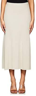 Calvin Klein WOMEN'S CASHMERE FLARED MAXI SKIRT