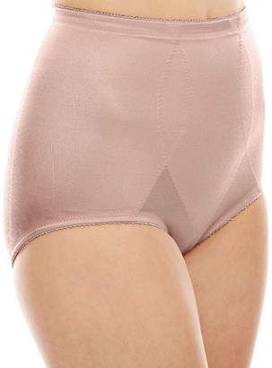 JCPenney Underscore Plus Rainbow Stretch Satin Tummy Panel Light Control Control Briefs 123-3905