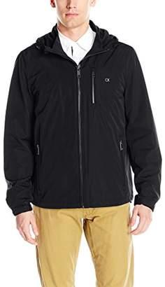 Calvin Klein Men's Windbreaker Hooded Jacket