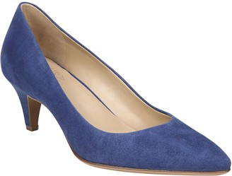 Naturalizer Leather Low-Heel Pumps - Beverly