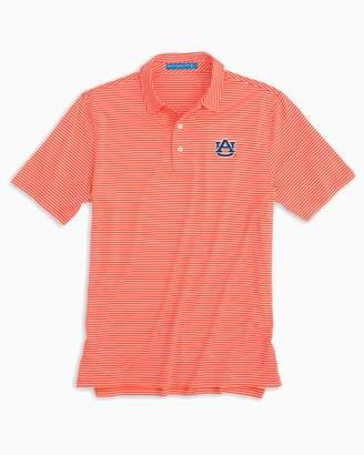 Southern Tide Auburn Tigers Striped Polo Shirt
