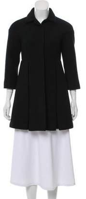 Miu Miu Wool Pleated Jacket