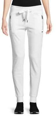 DKNY Rib-Trimmed Jogger Pants