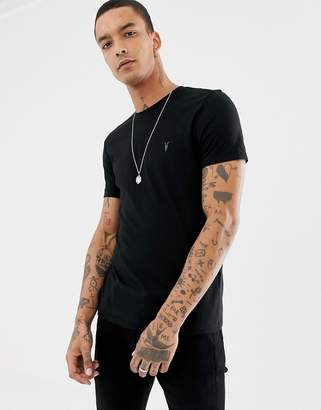 AllSaints t-shirt in black with logo