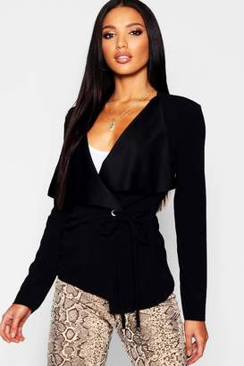 boohoo Side Tie Duster