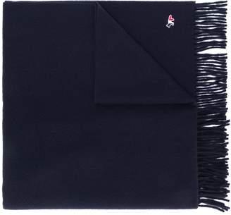 MAISON KITSUNÉ Tricolour Fox wool scarf