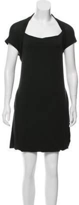 Hache Sleeveless Mini Dress