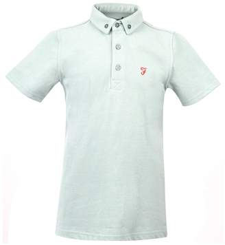 Farah Boys Short Sleeve Marl Polo