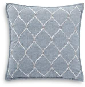 Waterford Florence Embroidered Decorative Pillow, 18 x 18