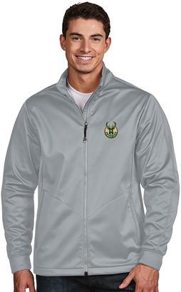 Antigua Men's Milwaukee Bucks Golf Jacket