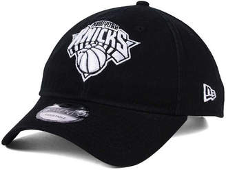 New Era New York Knicks Black White 9TWENTY Cap
