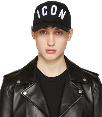 Dsquared2 Black Icon Cap $130 thestylecure.com