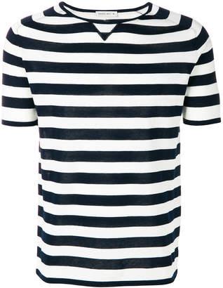 Manuel Ritz crew neck stripe T-shirt