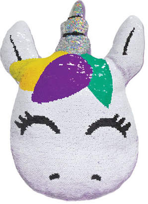 Iscream Kids' Sequin Unicorn Pillow