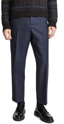 Marni Shadow Check Wool Trousers