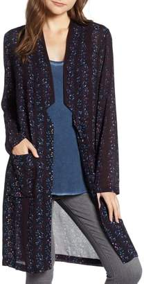 Hinge Floral Long Jacket