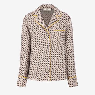 Bally (バリー) - ウィメンズ マルチカラー ウール&シルク パジャマシャツ