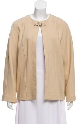 Chloé Collarless Wool Jacket