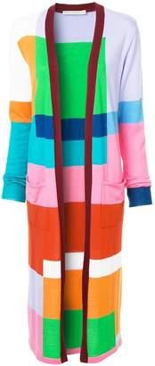 Mary Katrantzou block colour cardi-coat
