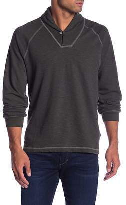 Agave Swell Shawl Collar Pullover