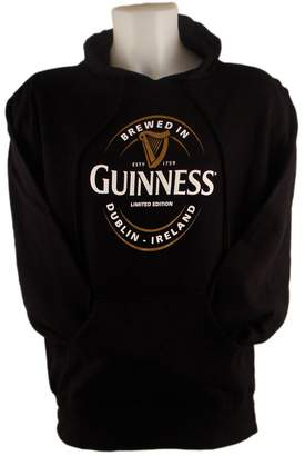 Guinness Pullover Hoodie With Large Brewed In Dublin Label, Colour