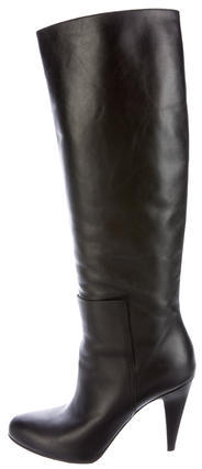 Balenciaga  Balenciaga Leather Knee-High Boots